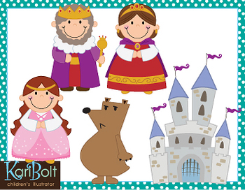 Fairy Tale and Royal Clip-Art