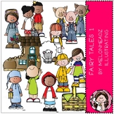 Fairy Tale clip art - Set 1 - COMBO PACK - Melonheadz Clipart