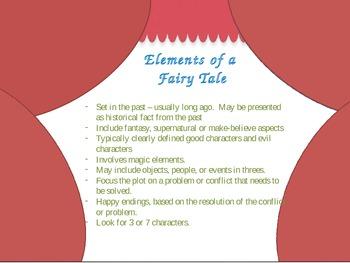 Fairy Tale set with craftivity
