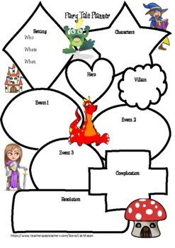 fairy tale writing template fairy tale writing template