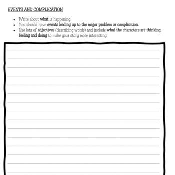 Fairy Tale writing template