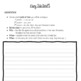 Fairy Tale writing template
