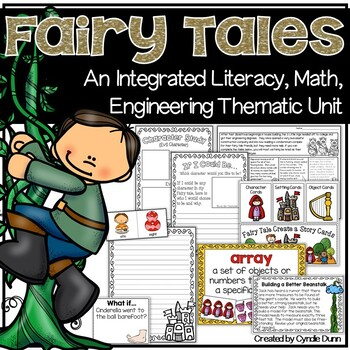 Fairy Tales Integrated Unit and Activities