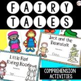 Fairy Tales Unit Bundle - Printable & Digital for Distance