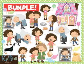 Fairy Tales and Fables Clip Art Bundle 2
