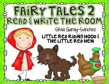 Fairy Tales 2 Read and Write the Room Center