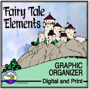 Fairy Tales Story Elements Graphic Organizer