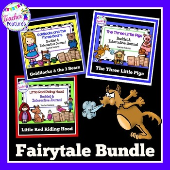 FABLES AND FOLKTALES BUNDLE Little Red, Three Little Pigs, Goldilocks