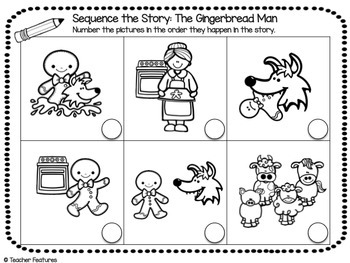 picture regarding Gingerbread Man Printable identify FABLES AND FOLKTALES Routines for Well-known Main Gingerbread Guy Functions