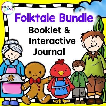 Fairytales & Folktales Bundle #2 (Gingerbread Man/Red Hen/Jack & the Beanstalk)