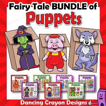 Fairy Tales Craft Puppets