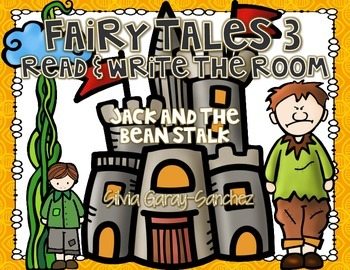 Fairy Tales 3 Read and Write the Room Center