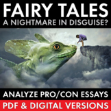 Fairy Tales Argument, Intro. Lesson for ANY Fairy Tale Unit or Fantasy Lit. CCSS