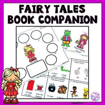 Fairy Tales:  Goldilocks, Three Pigs, & Little Red Riding Hood