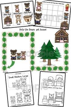 Fairy Tales BUNDLE: Activities for Pre-K, Preschool