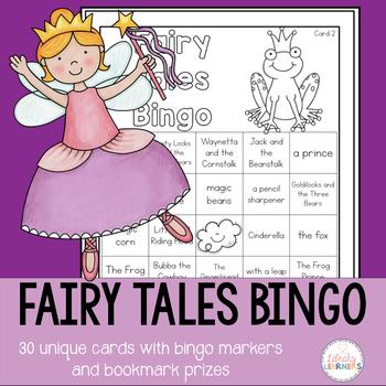 Fairy Tales Activities Bingo