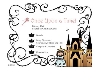 Fairy Tales - Blends and Other Literacy Activities