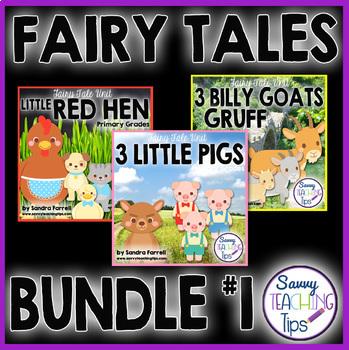 Fairy Tales - Language Arts Bundle