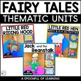 Fairy Tales Bundle - 3 Fairy Tale Units   Distance Learning