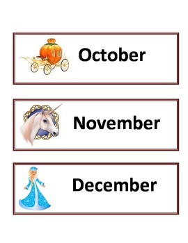 Fairy Tales - Calendar Set 1
