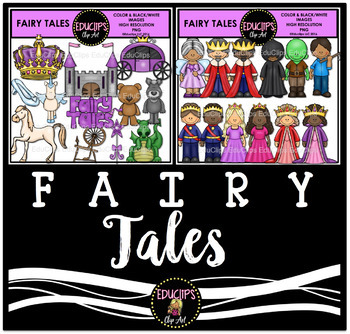 Fairy Tales Clip Art Bundle