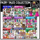 Fairy Tales Clip Art Collection {Educlips Clipart}