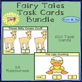Fairy Tales Task Cards Bundle