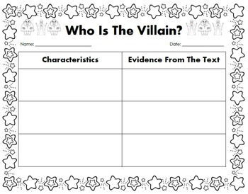 Fairy Tales [Comparing and Contrasting Characters] Reading Unit of Study