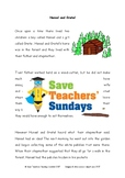 Fairy Tales Comprehension / Guided reading (4 levels of difficulty) - 5 Lessons