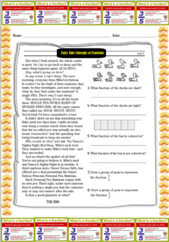 Fairy Tales Concepts of Fractions