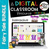 Fairy Tales Digital Flipbook BUNDLE RL3.2 RL3.3 RL4.2 RL4.3 for Google Classroom