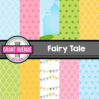 Fairy Tales Digital Papers