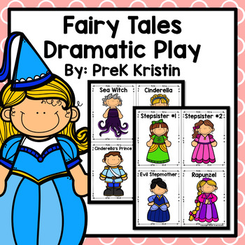 Fairy Tales Dramatic Play Set