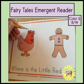 Fairy Tales Emergent Reader