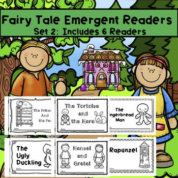 Fairy Tales Emergent Reader Set 2