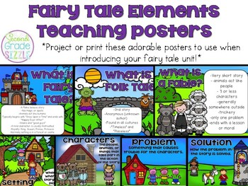 Fairy Tales, Fables, and Folk Tales Posters
