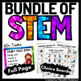 Fairy Tales, Fables, and Nursery Rhymes STEM Activities