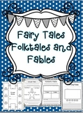 Fairy Tales, Folktales, and Fables (Common Core Aligned Activities)