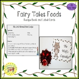 Fairy Tales Food Recipe Book and Label Cards