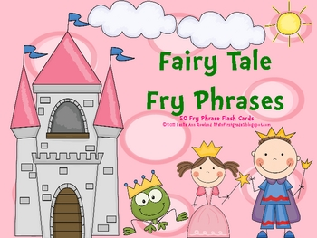Fairy Tales Fry Phrases Flash Cards