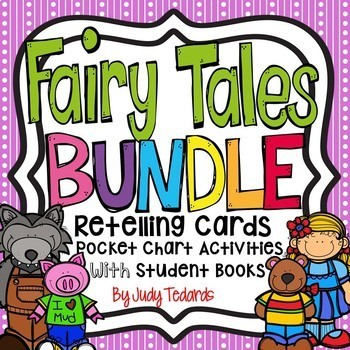 Fairy Tales Bundle (Retelling Cards and Pocket Chart Activities)