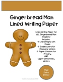 Fairy Tales: Gingerbread Man Writing Paper