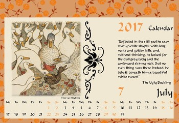 Fairy Tales Illustrations Calendar