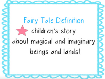 Fairy Tales Introduction!