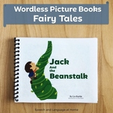 Wordless Book Printables | Fairy Tale Jack and the Beanstalk | Prek Kindergarten