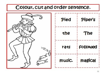 Fairy Tales & Legends- The Pied Piper Narrative and Literacy Tasks