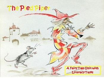 Fairy Tales & Legends- The Pied Piper Narrative and Litera