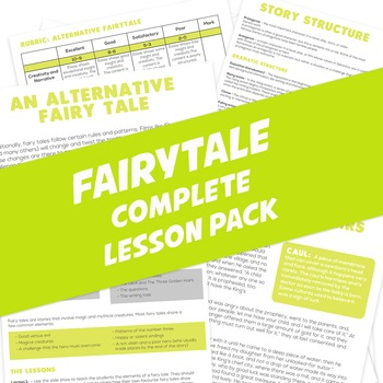 Fairy Tales Lesson Pack - 3 Lessons