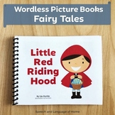 Wordless Book Printables | Fairy Tales | Little Red Riding Hood