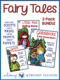 Fairy Tales Literacy BUNDLE (Masks, Scripts and Prompts)